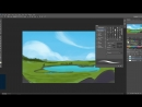 Рисуем весенний пейзаж в Adobe Photoshop
