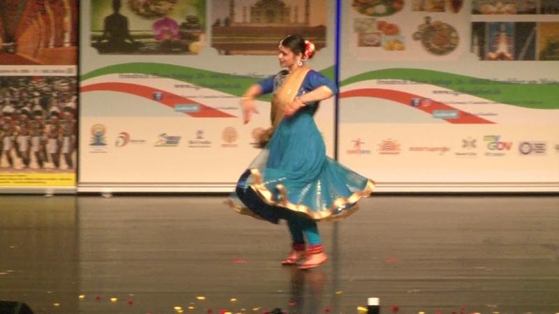 Priyadarshini Tilak and Natalia Averina dance performance Indradhanus event 2018 Frankfurt am mai