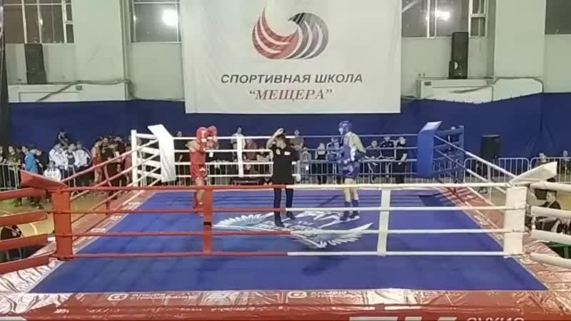 Одна четвертая финала. Кубок России по тайскому боксу 2018