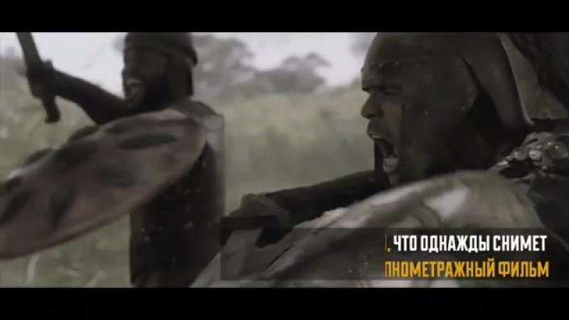 Видеоролик об аланах, снятый осетинским каскадером в Южной Африке