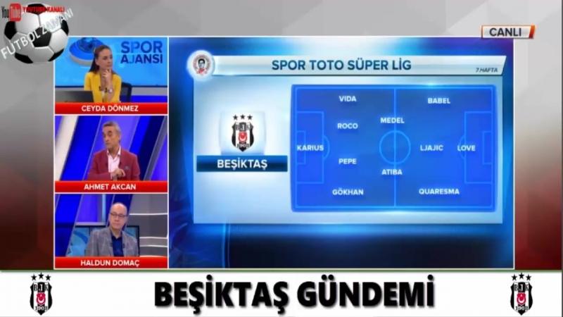 BEŞİKTAŞ Spor Ajansı ¦ Kayserispor Maçı ve Muhtemel 11 Yorumları 29 Eylül 2018
