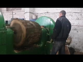 Лущильный станок до 1.1 метра в диаметре