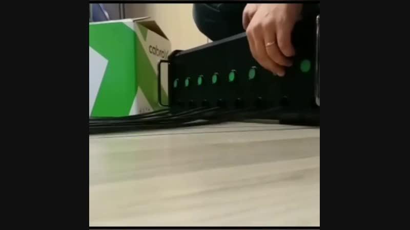Как мотать кабель XLR