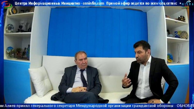 MİSRA TV studiyasının qonağı tarih elimləri doktoru, professor Cemil Hasanli