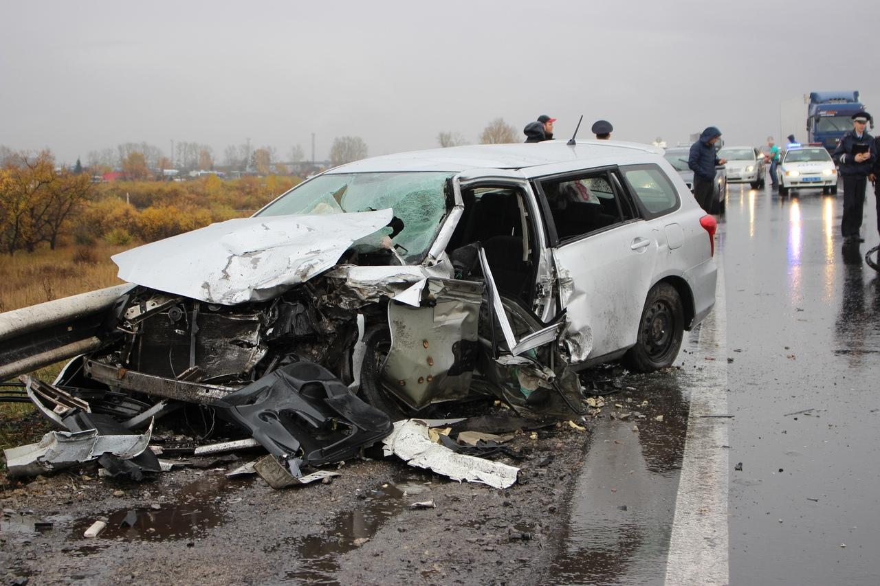 ДТП на трассе в Белово, пострадали 5 человек, 2 октября 2018