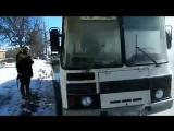 Владимирским журналистам пришлось спасаться из автобуса, который внезапно загорелся