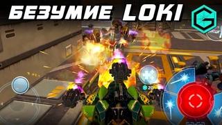Crazy Loki. Безумие Локи. War Robots. Loki 3 Halo MK2 & 2 Armor.