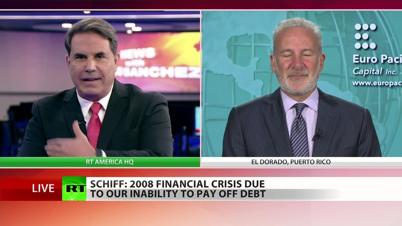 US economy about to collapse... dollar's going down with it - Peter Schiff