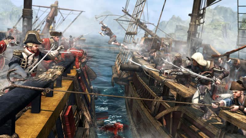 Assassin's Creed IV: Black Flag 4 (Кривой Санстрайк)