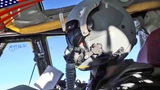 B-52 Bombers Cockpit View Non-Stop Flight from U.S. to Baltic Sea -