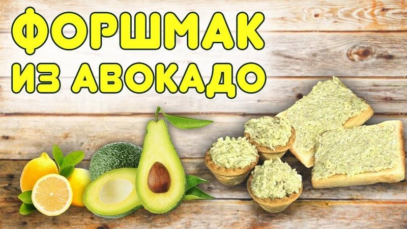 Такая закуска понравится всем Форшмак из авокадо