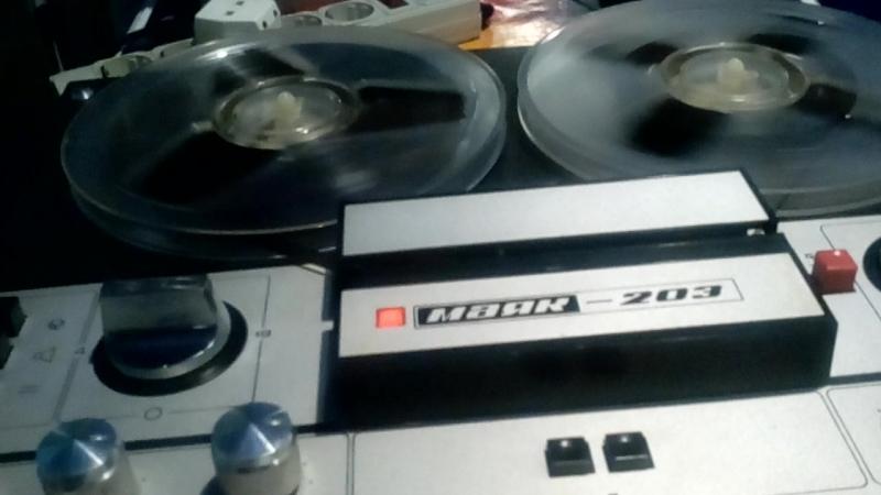 Второй этап восстановления магнитофона Маяк 203