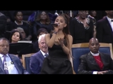 Bill Clinton in awe of Ariana Grande's performance at Aretha Franklin's funeral