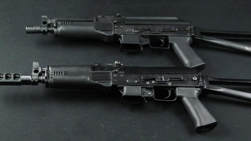 Страйкбольный пистолет-пулемет LCT ПП-19-01 Витязь. Обзор и сравнение с боевым автоматом.