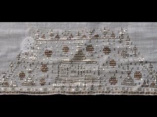 Крымские татарки вышивали… металлическими лентами