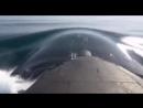 """Атомная подлодка """"Томск"""" стреляет по надводной мишени в Охотском море крылатой ракетой на расстояние в 150 км"""
