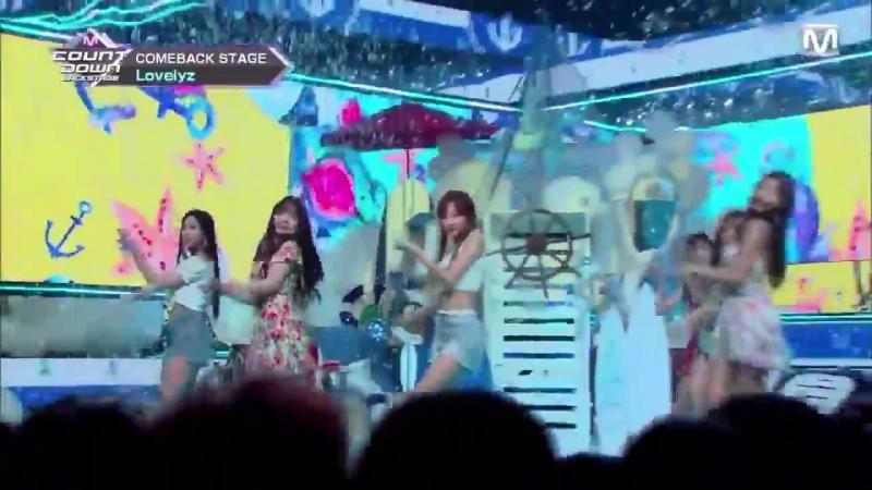 [180715] Lovelyz - Backstage @ M!Countdown