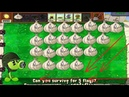 Plants vs Zombies hack mod - Garlic and Gatling pea vs all Zombies