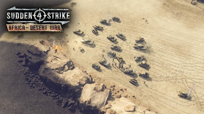 Sudden Strike 4 Africa Desert War DLC US смотреть онлайн без регистрации