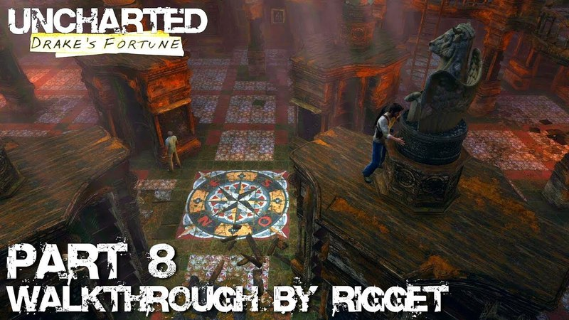 Uncharted Drake's Fortune HD Прохождение Часть 8 Под землю
