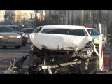 Два человека пострадали в результате ДТП с участием кареты скорой помощи на Садовом кольце
