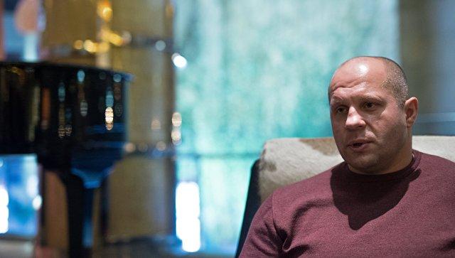 Фёдор Емельяненко проведёт мастер-класс по национальным видам спорта России