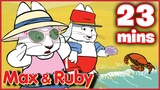 Max &amp Ruby Ruby Delivers Getting Crabby At The Beach Max Babysits - Ep. 32