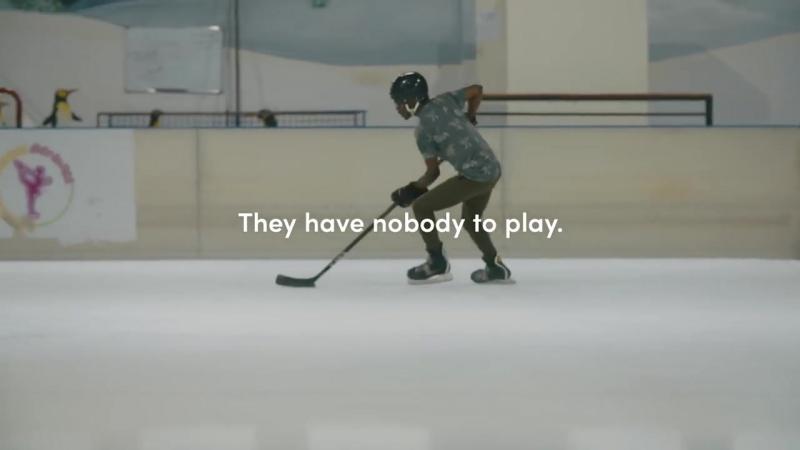 Сидни Кросби сыграл за кенийскую хоккейную команду.