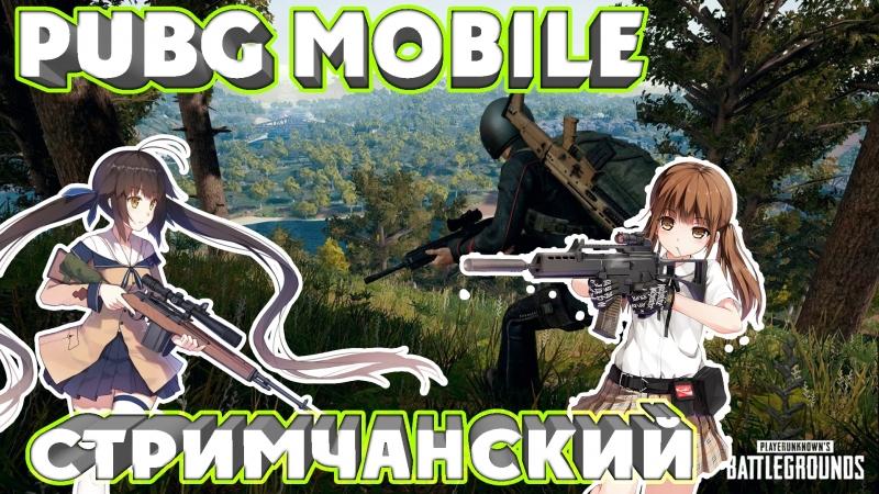 Ну шо, погнали покатаем в PUBG mobile:)