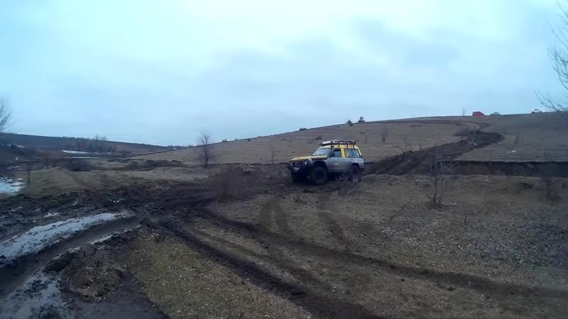 Off-road - 103 Неубиваемый Патрол (Nissan Patrol, ГАЗ-66, Трактор МТЗ Беларус)