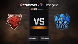 CyberZen vs Lucid Dream, mirage, StarSeries & i-League Season 6 Asia Qualifier