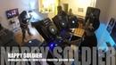 Drum Bass Junglist Band Nappy Soldier Studio dj remix session