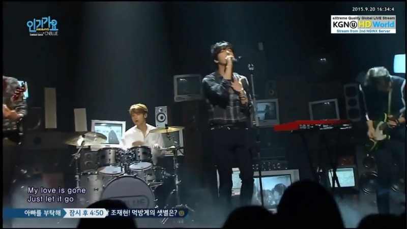 20150920 CNBLUE - Domino @ Inkigayo Comeback Stage