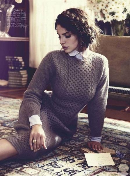 Лана Дель Рей для австралийского журнала «Vogue» / октябрь 2012