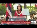 Tulsi Gabbard officially launches 2020 campaign
