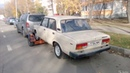 Находка ВАЗ 2107 люксовая , 1988 пробег 220 км/машине 30 лет! полный завод.
