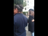 Alycia Debnam-Carey with fans in Brazil