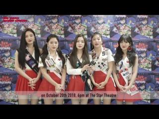 180918 Red Velvet @ Redmare in Singapore Message