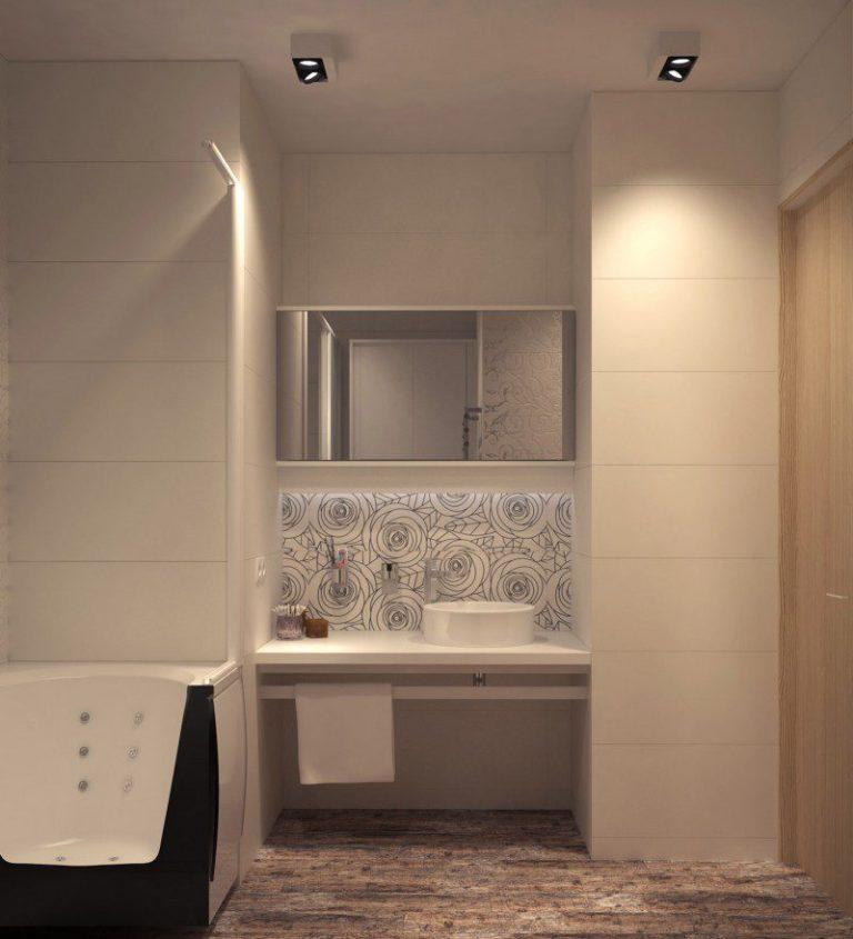 Проект дизайна 3-комнатной хрущевки