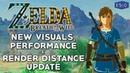 Zelda BOTW | New Light Shading, Grass Render Distance Easy FPS Boosting Upgrades [Cemu 1.15.4]