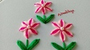 Hand Embroidery: Double Color Flowers with Ring Stitch | Artesd'Olga
