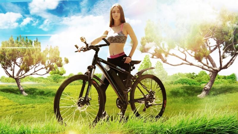 Умный электро велогибрид Kupper Unicorn - большой запас хода!