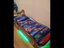 Кроватка машинка Турбо Спайдер с подъемным механизмом