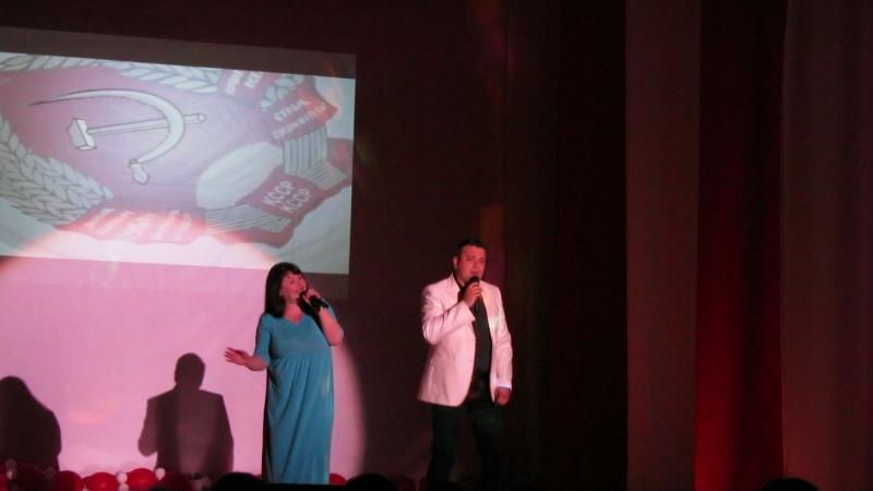 Дмитрий Медведев и Анна Докучаева на гала-концерте проекта Чтобы помнили