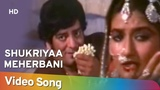Shukriyaa Meherbani (HD) Akhari Sangharsh (1997) Popular Lata Mangeshkar Hit Song