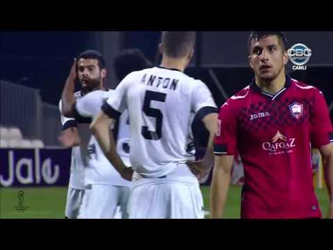 Azərbaycan Kuboku 1718, 12 final, ilk oyun, Qəbələ 1-2 Neftçi