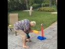 Grandma Accidentally Drops Toddler While Practicing Tee-Ball - 993158