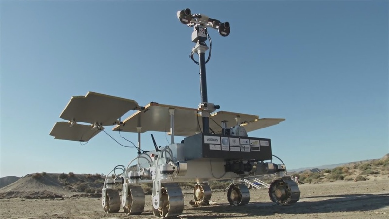 В испанской пустыне испытывают марсоход «Экзомарс»