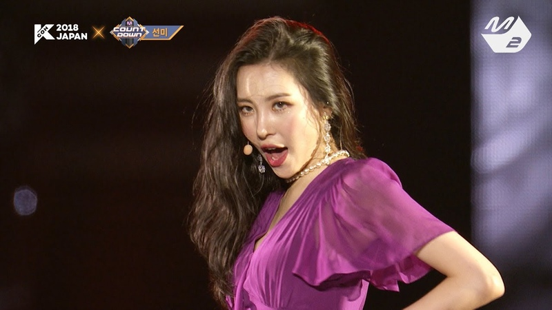 [KCON 2018 JAPAN 미공개] 선미(SUNMI) - 가시나(Gashina)