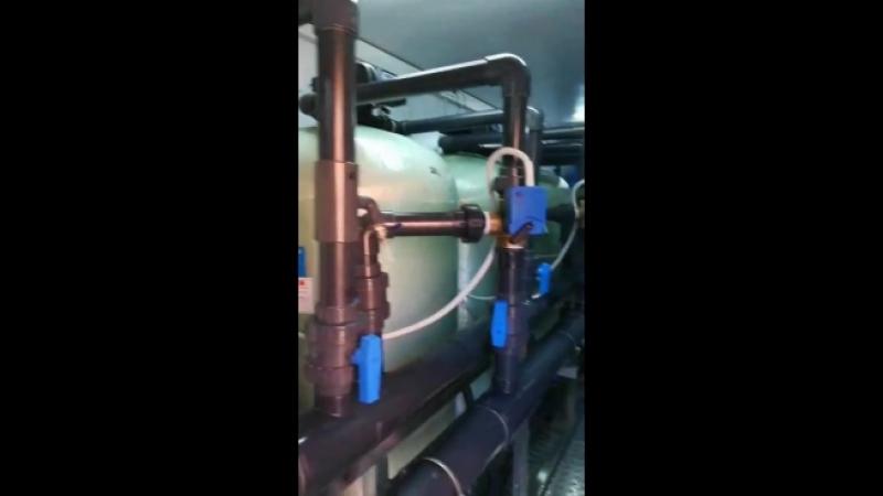 Установка водоподготовки Сокол 35 м3час модульная в контейнере для Сахалинской ГЭС. Монтаж и пусконаладочные работы в Южно-Саха
